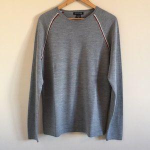 Kenneth Cole   Grey Pullover Crewneck Sweater XL